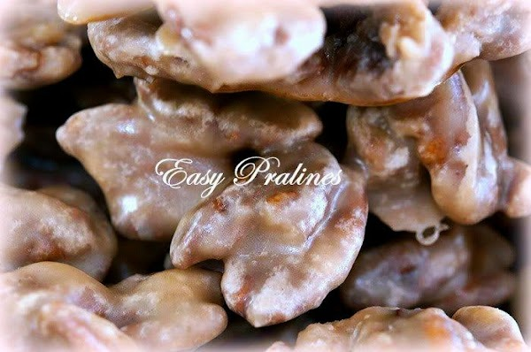 ~ Easy Pralines ~ Sis's Recipe