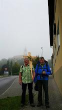 Photo: Zwei im Nebelreissen, sehr unterschiedlich ausgerüstet...