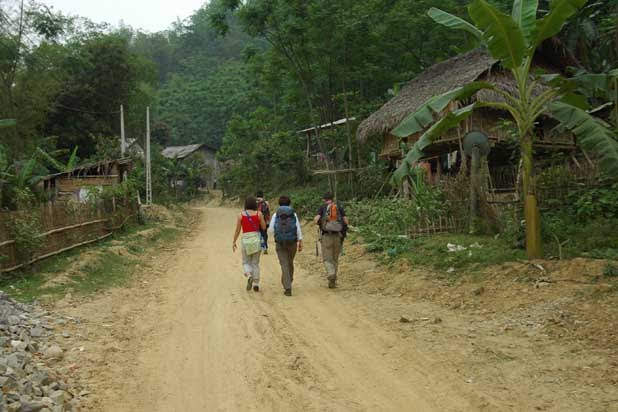 Trekking in Pu Luong