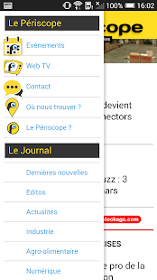 Journal Le Périscope- screenshot thumbnail