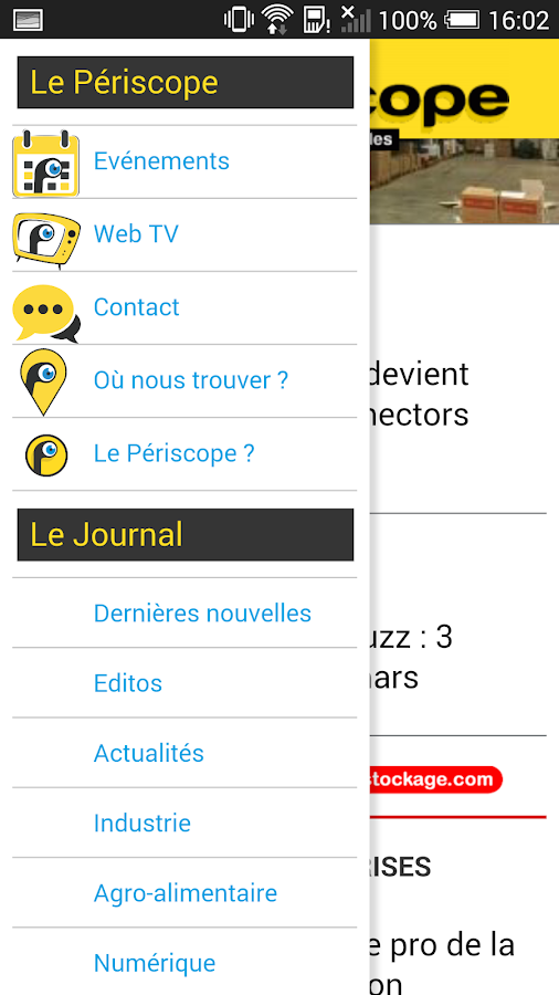 Journal Le Périscope- screenshot