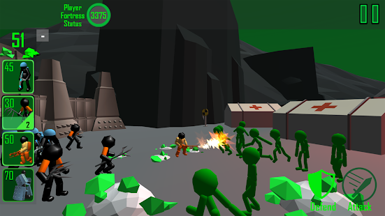 Stickman: Legacy of Zombie War Screenshot