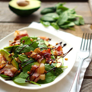 Bacon Avocado Salad From Jamie Oliver.