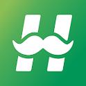 Hotel Booking App - HotelDad icon