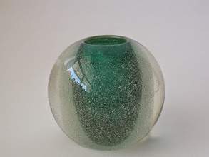 Photo: Flavio Poli Vase. Somerso/ Pulegoso.  First piece from a year of collecting.