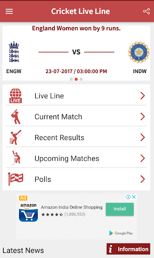 Cricket Live Line  screenshots 2