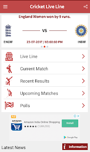Cricket Live Line App Latest Version Download For Android and iPhone 2