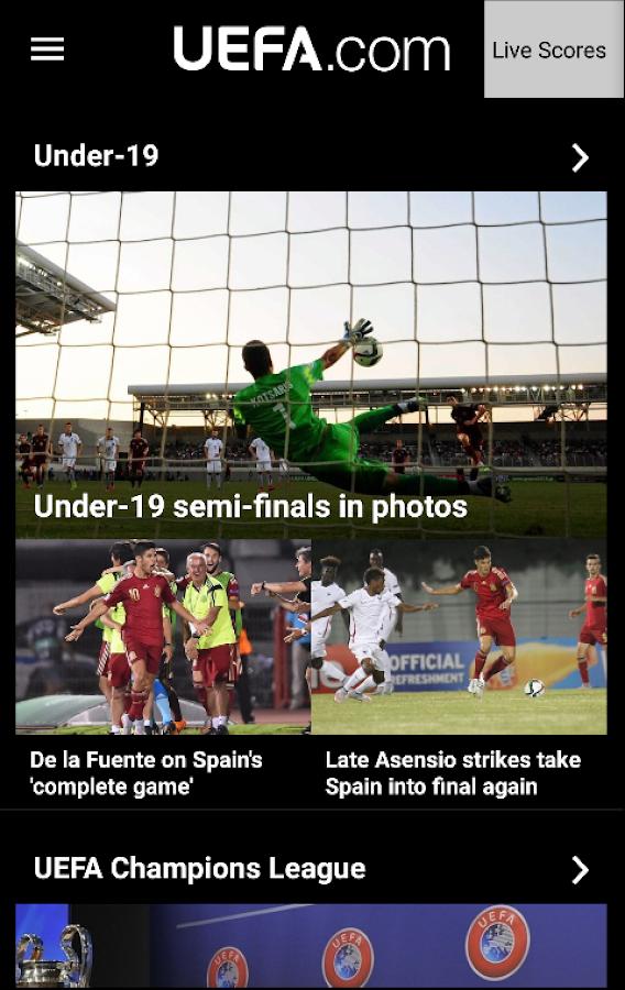 UEFA.com- screenshot