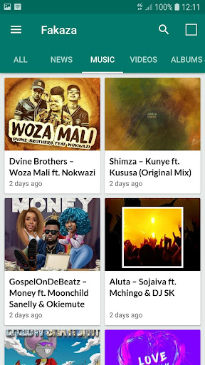 fakaza music download and news - south africa screenshot 1