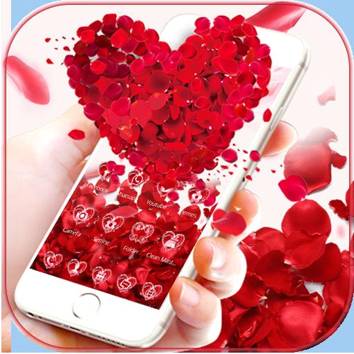 Red Rose Love Theme Wallpaper