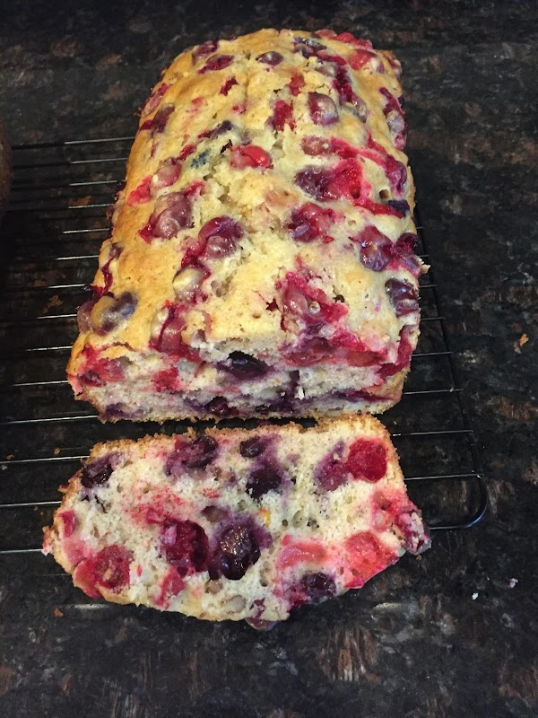 Margos Cranberry Bread Recipe
