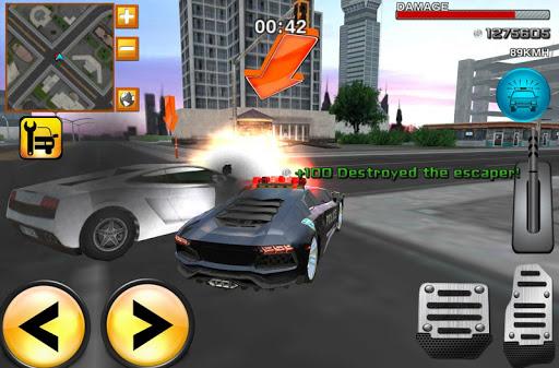 疯狂警察司机怒3D