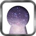 Space Keyhole Live Wallpaper icon