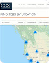 "Map inset with ""Find jobs by location"" header"