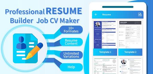 Appgrooves Compare Professional Resume Builder Job Cv Maker Vs