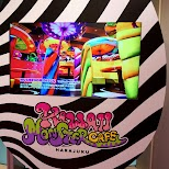 the Mushroom Disco at the Kawaii Monster Cafe in Harajuku in Harajuku, Tokyo, Japan
