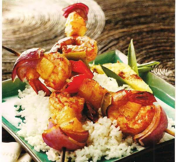 Chipotle Shrimp And Pineapple Kebabs