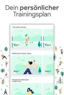Gewichtsverlust Training zu Fuß