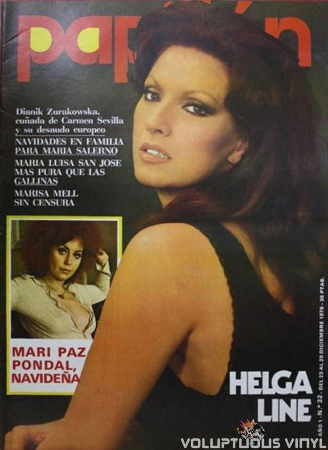 Helga Line Magazine Cover