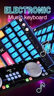 Electronic music keyboard - náhled