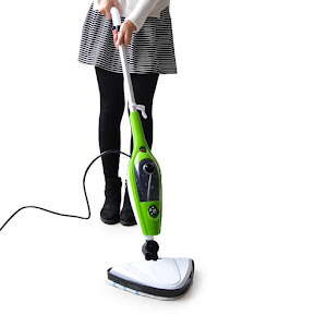 Mop electric cu aburi pentru curatat si dezinfectat cu jet de abur