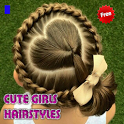 Cute Girl Hairstyles icon