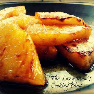 Grilled, Caramelized Pineapple.