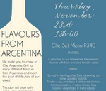 Flavors from Argentina : Che Argentine Grill