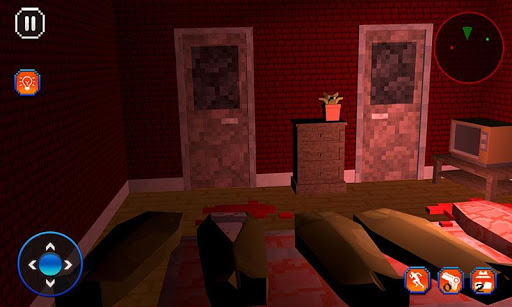 Blocky Dude - Scary Game 1.9 screenshots 2