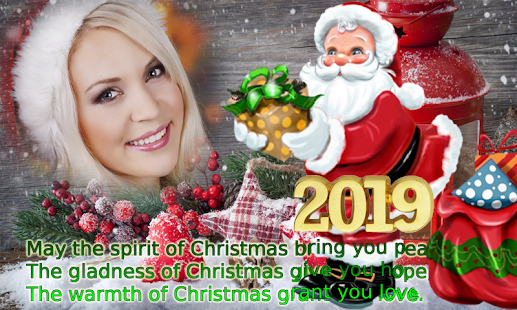 Christmas Plays 2019 Christmas Photo Frame 2019   Apps en Google Play