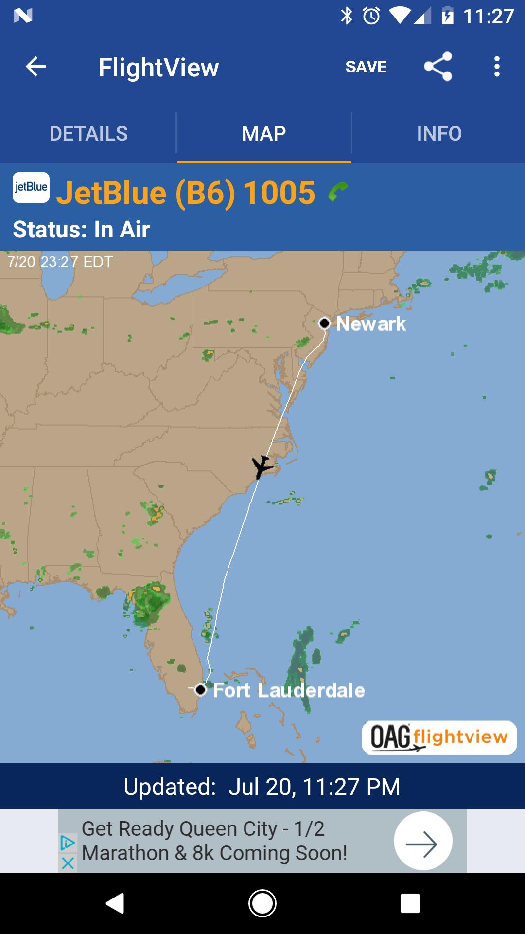 FlightView Free Flight Tracker screenshot #2