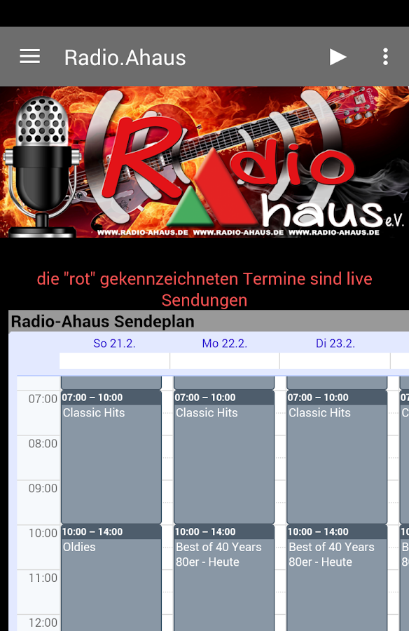 Radio-Ahaus- screenshot