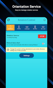 Easy Screen Rotation Manager Screenshot