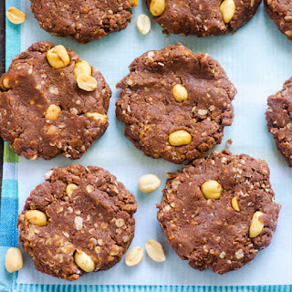 No Bake Protein Cookies.