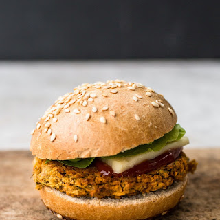 Sweet Potato Veggie Burgers.