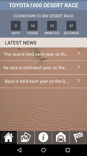Desert Race Toyota 1000
