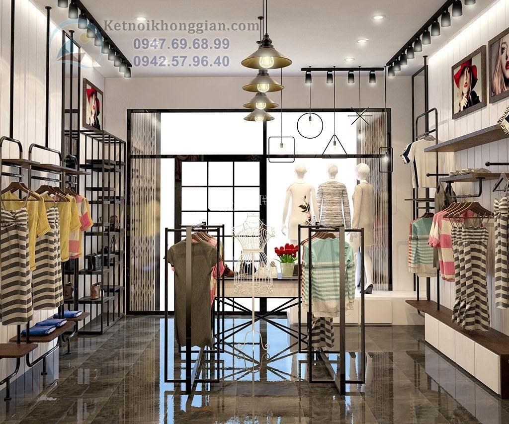 thiết kế shop thời trang hiện đại 7