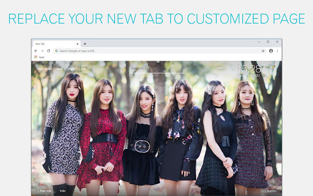Kpop (G)I-DLE Wallpapers NewTab freeaddon.com