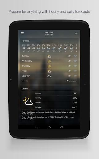 Yahoo Weather screenshot 7