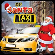 3D Santa Taxi Drive