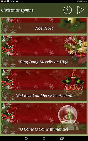 android Christmas Hymns Holiday Themes Screenshot 6