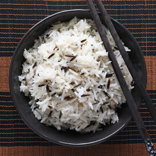 Savory Ginger Garlic Coconut Rice.