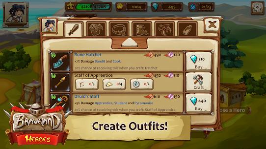 Braveland Battles Heroes MOD (Unlimited Money) 3