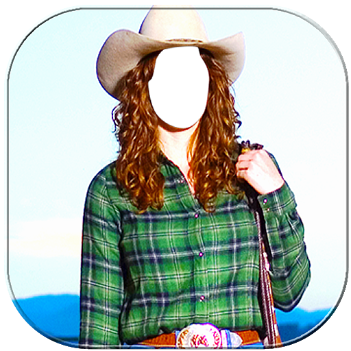 Cowgirl Photo Frame 2018 (app)