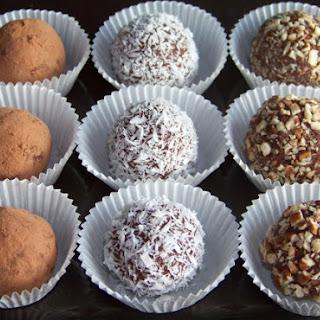 Sugar Free Low Carb Almond Fudge Truffles