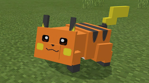 Pikachu mod for minecraft pe 1.5 screenshots 2