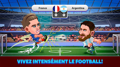 Head Soccer 2018 Russie Coupe du Monde de Football  captures d'u00e9cran 1