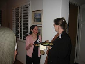 Photo: Professors Linda Levine and Barbara Dosher