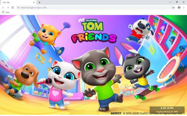 My Talking Tom Wallpapers and New Tab