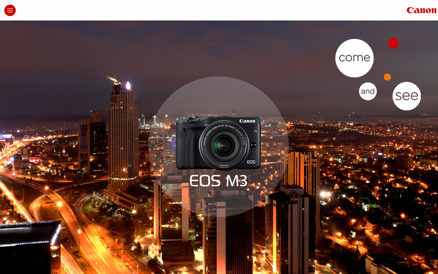 Canon EOS M3 Companion- screenshot